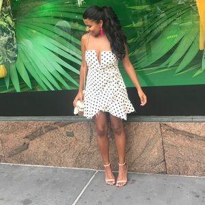 Adorable Polka Dot Cotton Dress
